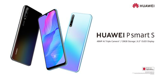 Huawei P smart S available in south africa