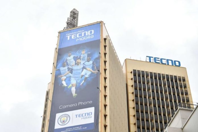 TECNO becomes top smartphone brand in Africa